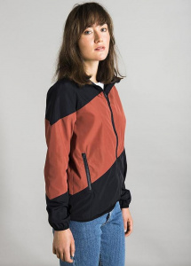 "Windbreaker ""Fairford Ladies"" - navy/rostrot"