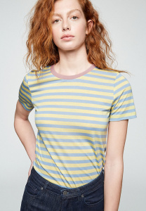 "Shirt ""Lida Bold Stripes"" - vanille"