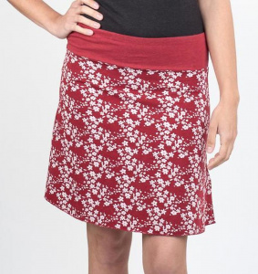 "Daily Skirt ""Bali"" - bloody red"