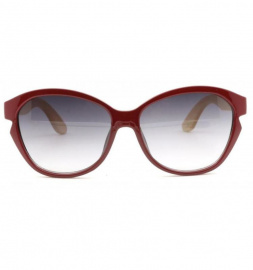 "Antonio Verde Sunglasses ""Tivoli"" - wine red"