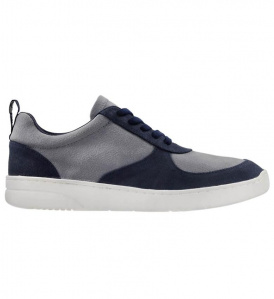 Men's Sneaker (vegan) - blue/grey