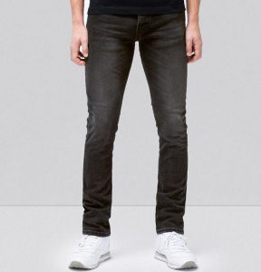 "Nudie Jeans ""Grim Tim"" (vegan) - concrete black"
