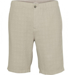 Lockere Ramie-Shorts - beige