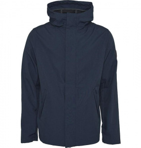 Soft Shell Hood Jacket - dunkelblau