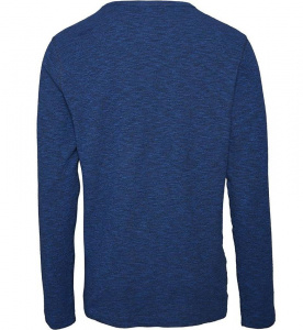 Double Layer Striped Sweat - olympia blue