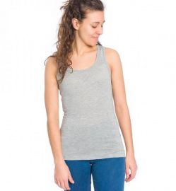 "Bleed ""Tencel™ Top Damen"" - grey"