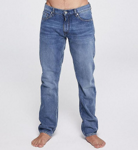 "Straight Jeans ""Dylaan"" (vegan) - light stone wash"
