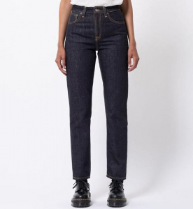 "Nudie Jeans ""Breezy Britt"" (vegan) - rinsed original"