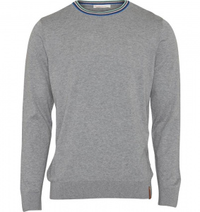 "Pull ""Light Knit"" - gris"
