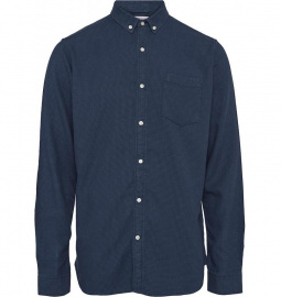 Zig-Zag Shirt - dark denim
