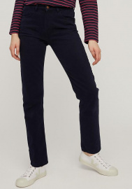 Irena Twill Trousers - navy