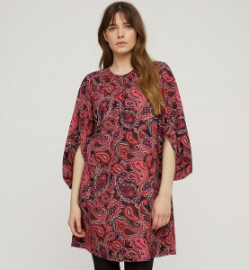 "Dress ""Darby Paisley"" - pink multi"