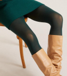 "Lanius ""Tights"" (recycled nylon) - bottle green"