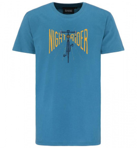 "Men's T-Shirt ""Nightrider"" - midnight blue"