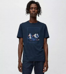 "T-Shirt ""Jaames Nature"" - navy"