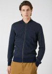 "Strickcardigan ""Vaano"" - navy"