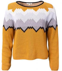 Norweger Pullover (Wolle) - gold