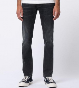 "Nudie Jeans ""Grim Tim"" (vegan) - black edge"