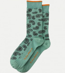 "Nudie Socks ""Olsson Paisly"" - green"
