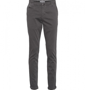 "Pantalon Chino ""Joe"" - noir grisé"