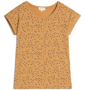 "Shirt ""Livaa Blown Blossoms"" - caramel butter"
