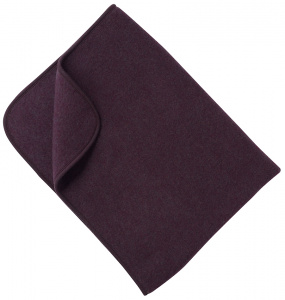 Woolen Fleece Blanket - purple