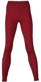 Women's Leggins wool / silk - malve