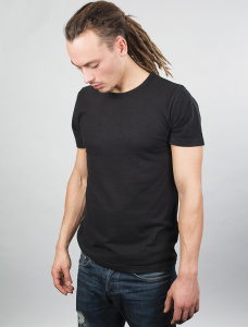 "T-Shirt ""Boy Tee Blanco"" - noir"