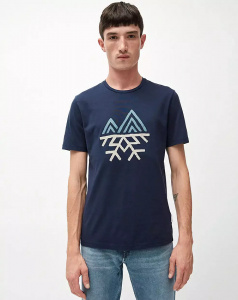 "T-Shirt ""Jaames Snow"" - navy"