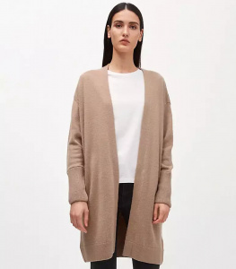 "Strickcardigan ""Silviaa"" - light camel"