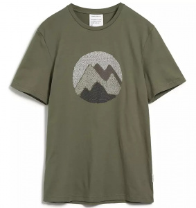 "T-Shirt ""Jaames Scribble Mountain"" - moos"