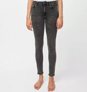 "Jeans ""Tillaa X Stretch"" (vegan) - coal mine"