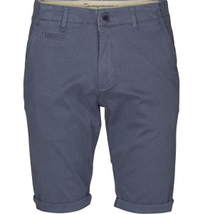 Stretch Chino Shorts - indigoblau