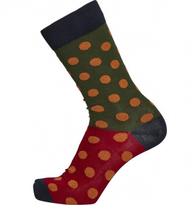 Chaussettes 4-Pack - total eclipse/dots