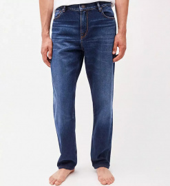 "Straight Jeans ""Dylaan"" (vegan) - blue authentic"