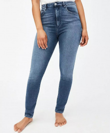 "Highwaist Jeans ""Ingaa"" - stone wash"