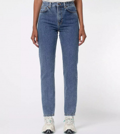 "Nudie Jeans ""Breezy Britt"" - friendly blue"