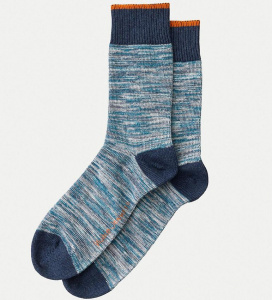 "Nudie Socken ""Rasmusson Multi Yarn"" - blau"