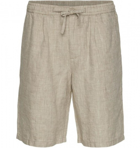 "Lockere Leinen-Shorts ""Birch"" - sand"