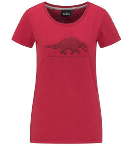 "Frauen T-Shirt ""One Of The Last"" - rot"
