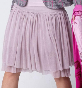 Tulle Skirt - violet ice