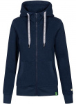 "Derbe Damen Zipper ""Delphis"" - navy meliert"