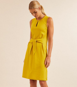 "Lanius ""Sleeveless Dress"" - yellow"