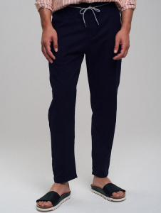 Mens Canvas Pants - navy