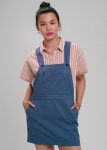 "Dungaree Dress ""Strappy"" - blue"