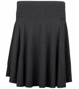Kora Skirt (hemp) - black
