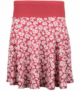 "Kora Skirt ""Hawaii"" (Hanf) - rot"