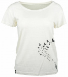 "Zaz Tee ""Flyings"" (Hanf) - weiß"
