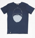 "Zerum Herren T-Shirt ""Bottle"" - navy"