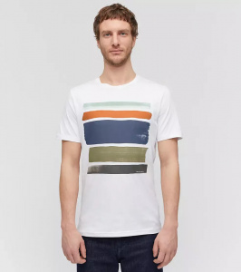 "T-Shirt ""Jaames Strokes"" - white"